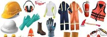 Safety wear  coverall  caster wheel  Gloves