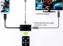 1080P MHL Micro USB to HDMI Adapter+Remote Control For Samsung Galaxy Note 4 3 2