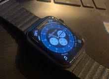 ساعة أبل سيريس 5 كستعملة 7 اشهر قياس 44