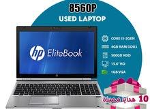 laptop HP 8560p core i5 2 gen 4g ram 500g hdd 15.6 monitor 1g vga