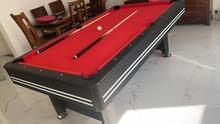Roma italy billiard table طاولة بلياردو FT 7.8.9