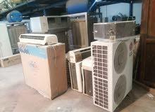 للبيع وشراء واستبدال جميع انواع المكيفات المستعمله والاجهزه الكهربائية بسعر يصل