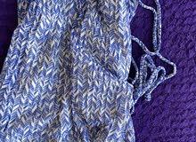 Beautiful Blue maxi dress L long summer boho beach