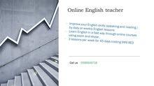 تدريس وتعليم اللغه الانكليزيه من داخل منزلك