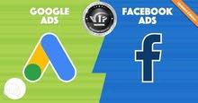 حملات إعلانية فيسبوك وجوجل