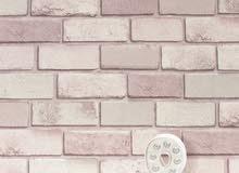 ورق حائط راقي ثلاثي الابعاد الرول ب 6 ونص