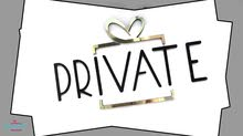 private لتغليف الهدايا و العطور الاكسسوار