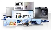 التوصيل مجاناً بيع الاجهزة الكهربائية شاشات - مكيفات - سبالت