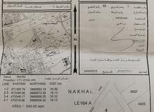 ارض زراعية  صحار (( غيل الشبول )) اقرب معلم جامع غيل الشبول