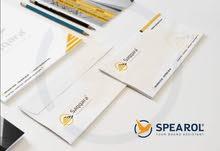 تصميم هوية كاملة لشركتك أو مكتبك أو عملك الخاص