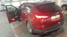 Gasoline Fuel/Power   Hyundai Santa Fe 2013