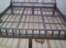Huge Metal bed without mattress