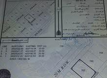 ارض سكنية ضنك المدينة الجديدة المساحة 600متر تبعد عن شارع القار 300متر