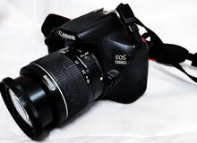 canon 1300 DSLR camra weth all accsess