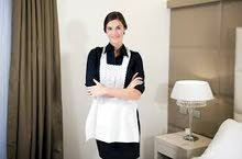 housemsids available. ..........متوفر خادمات