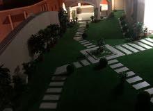 تنسيق وصيانة الحدائق الخارجيه والداخليه جميع مناطق الكويت