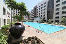 2BHK flat Lamar Bausher pool شقة من غرفتين للإيجار فبوشر