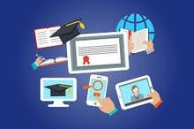 مصمم تعليم الكتروني ودراسة عن بعد