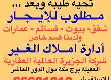للايجار في مبارك الكبير