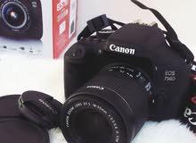 كاميرا كانون EOS 750D 