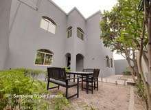 JANABIYA #SEMI FURNISHED 5 BRN #DOUBLE STORY VILLA LARGE #PRIVATE #GARDEN