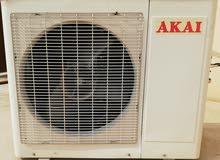 مكيف أكاي سبليت مقاس 30 حار بارد توفيري 6 نجوم بحالة جيدة