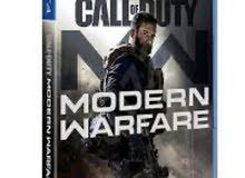 Call of duty modren warfare الجديد للبيع