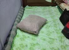 سرير نوم مع الفرشة مستعمل بحالة جيدة 0566238817