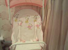 كرسي اطفال شبه جديد غير مستخدم