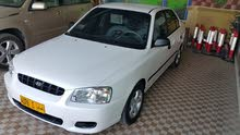 Hyundai Accent 2000 For sale - White color