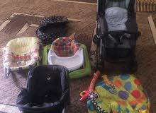 8 قطع مختلفة ماركات عالمية / تعديل تم بيع عربة الاطفال