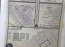 ارضين للبيع سكني تجاري فنجاء منطقة السعادي سعر جدا ممتاز مساحة كل وحده 200 متر