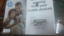 طابعة hp للطباعة و النسخ ملون +ابيض اسود ب7 ريال فقط