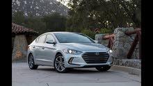 Hyundai Elantra 2017 For Rent - Grey color