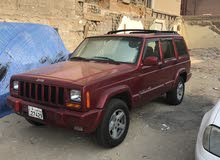 Red Jeep Cherokee 1999 for sale