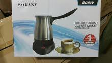 غلايه القهوه الكهربائية نخب اول ستالس ستيل بقوه 800 واط