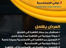 برنامج سياحي للقاهرة والاسكندرية