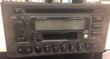 راديو، مسجل كاسيت، سيدي تويوتا