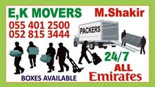Ek.MOVERS,PACKERS Dubai  Call Me 0554012500 .We are Professional Movers, Packers