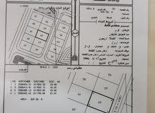 ارض للبيع في السيح الاحمر فنجاء في مربع 8 موقع ممتاز وأمامها شارع قار