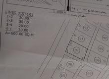 ارض للبيع في صحار الملتقى 600م موقع جميل جدا وكل الخدمات متوفره