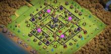 قرية كلاش اوف كلانس مميزة تاون هول 9 ماكس للبيع  clash of clans town hall 9 max