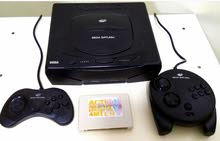 Sega Saturn modded with chip in very good condition
