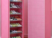وردي كبت دولاب خزانة احذية جواتي الحجم عدت طبقات