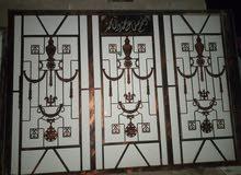باب كراج سلايت 3.5 متر في 2.5 متر الارتفاع حديد ثقيل