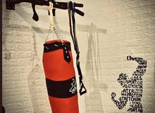 """Punching bag/boxing bag with stand and pull up bar """"3 in one"""" (heavy duty pull up bar)"""