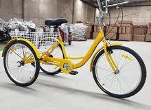 دراجة 3 كفرات رياضية للكبار