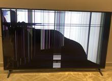 شاشة مكسورة