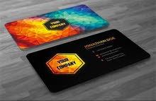 تصميم كروت شخصية business cards