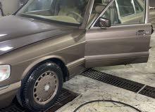 مرسيدس sel560 مديل 1990